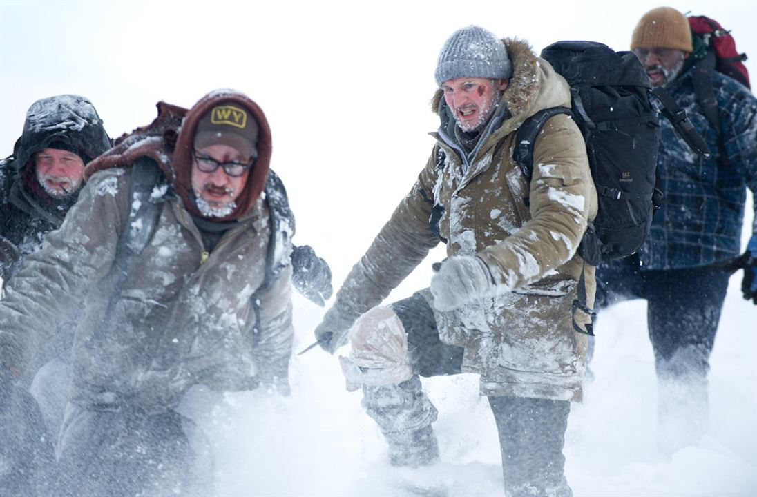 The Grey - Unter Wölfen: Liam Neeson, Joe Carnahan