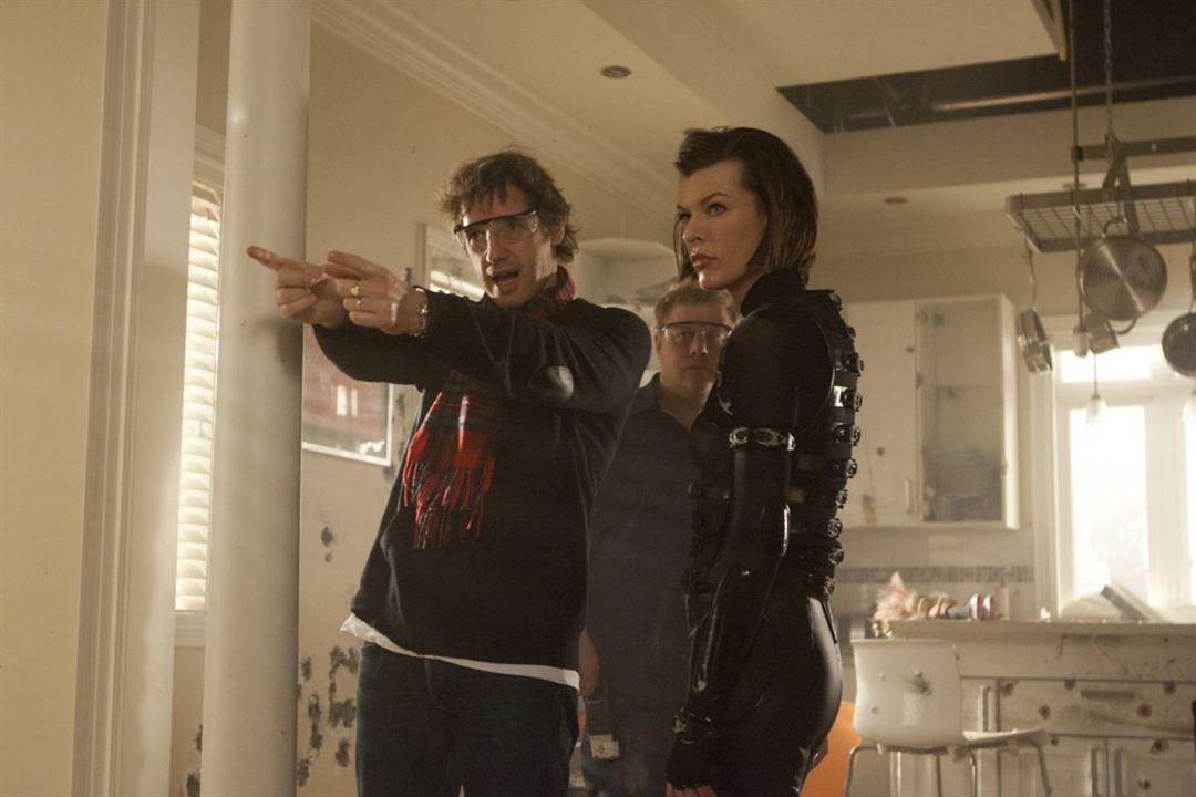 Resident Evil 5: Retribution : Bild Milla Jovovich, Paul W.S. Anderson