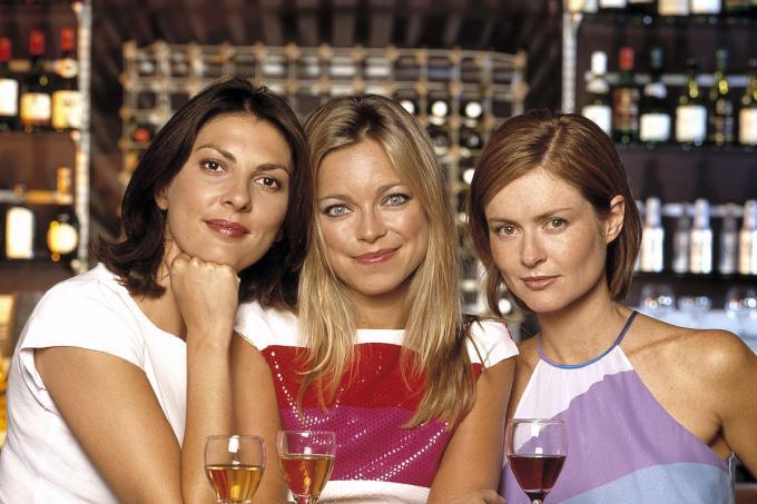 Coupling (UK) : Bild Gina Bellman, Kate Isitt, Sarah Alexander
