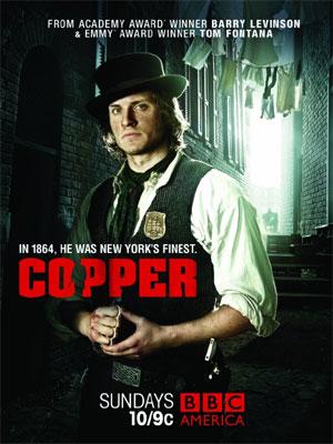 Copper - Justice Is Brutal : Kinoposter