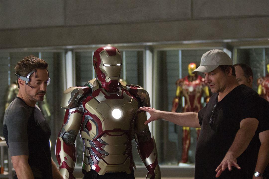 Iron Man 3 : Bild Robert Downey Jr., Shane Black