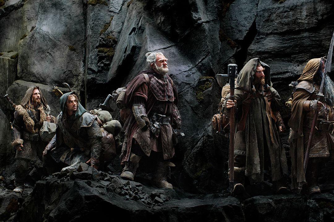 Der Hobbit: Eine unerwartete Reise : Bild Aidan Turner, Dean O'Gorman, Jed Brophy, Mark Hadlow, William Kircher