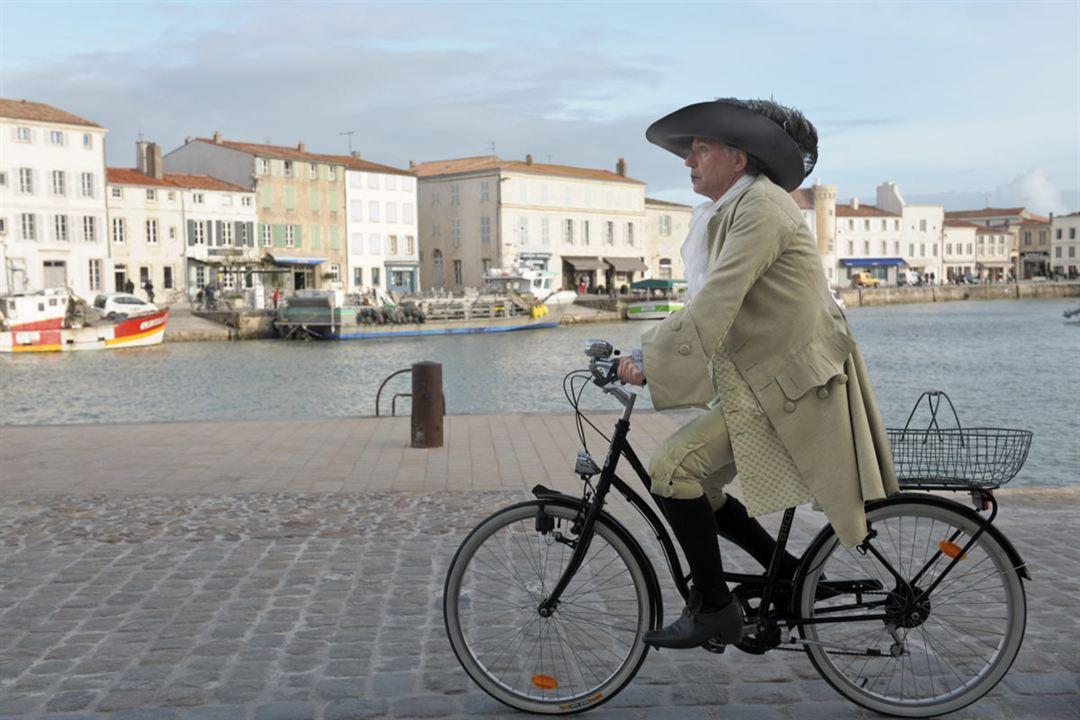 Molière auf dem Fahrrad : Bild Fabrice Luchini