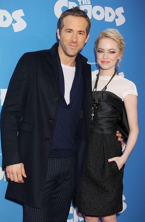 Die Croods: Emma Stone, Ryan Reynolds