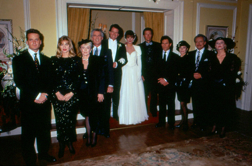 Bild A. Martinez, Eileen Davidson, Gordon Thomson, Henry Darrow, Jack Wagner