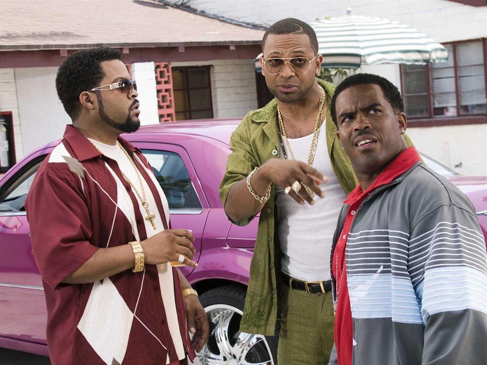 Janky Promoters : Bild Ice Cube, Lahmard J. Tate, Mike Epps