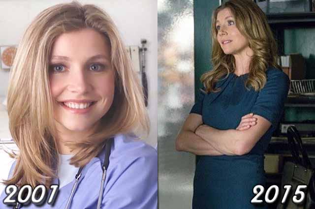 Sarah Chalke (Dr. Elliot Reid)