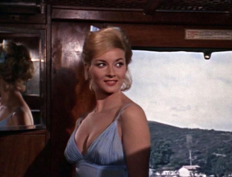 "Tatiana Romanova (Daniela Bianchi) in ""James Bond 007 - Liebesgrüße aus Moskau"""