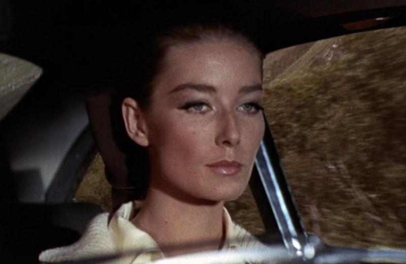 "Tilly Masterson (Tania Mallet) in ""James Bond 007 - Goldfinger"""