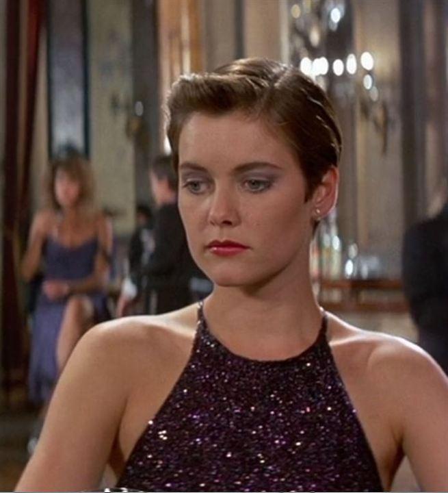 "Pam Bouvier (Carey Lowell) in ""James Bond 007 - Lizenz zum Töten"""