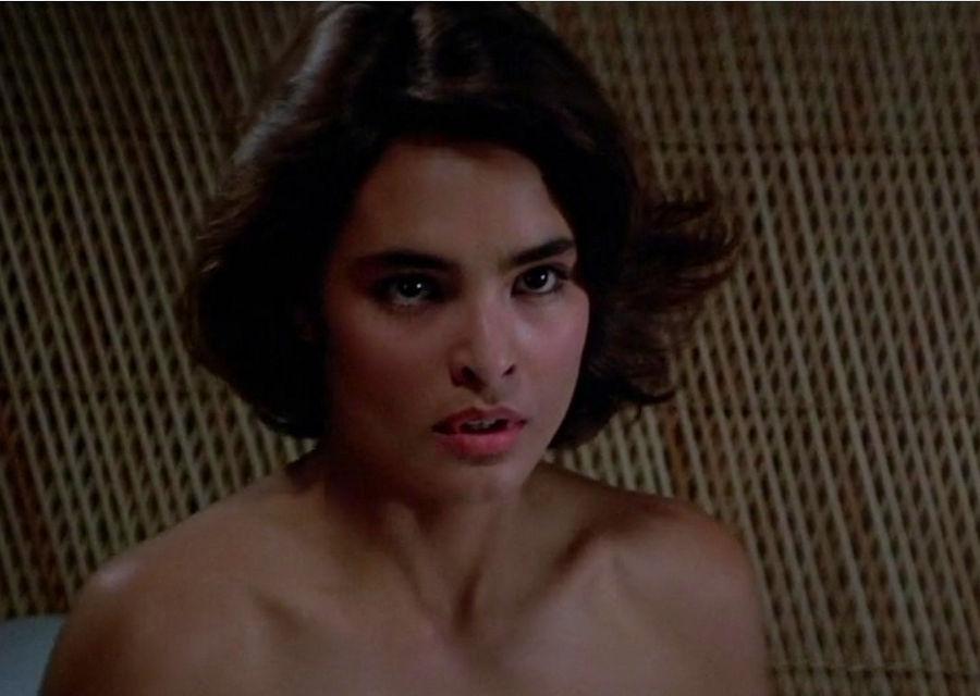 "Lupe Lamora (Talisa Soto) in ""James Bond 007 - Lizenz zum Töten"""