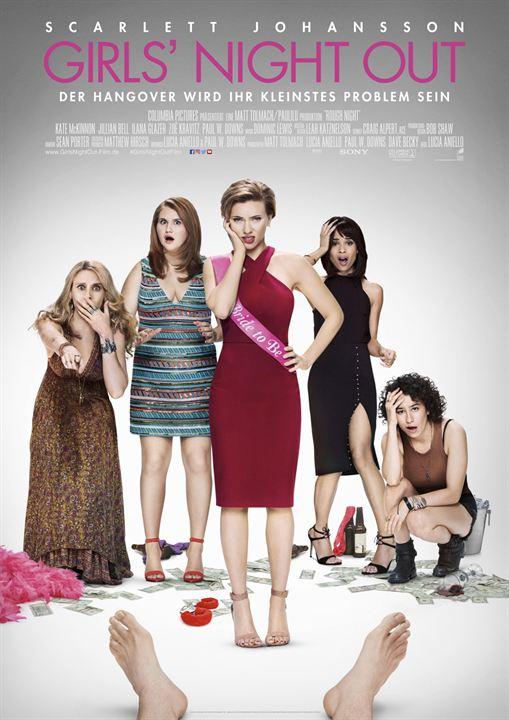 """""""Girls' Night Out"""": Das deutsche Kinoposter"""