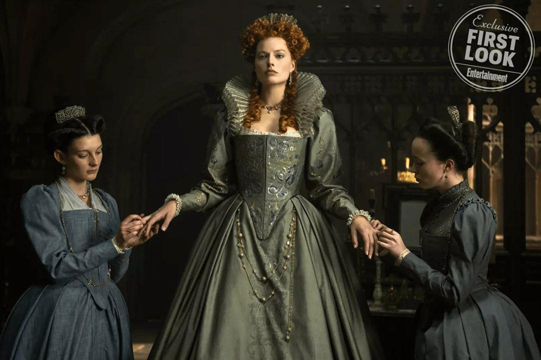 """Margot Robbie als Elizabeth I in """"Mary Queen Of Scots"""""""