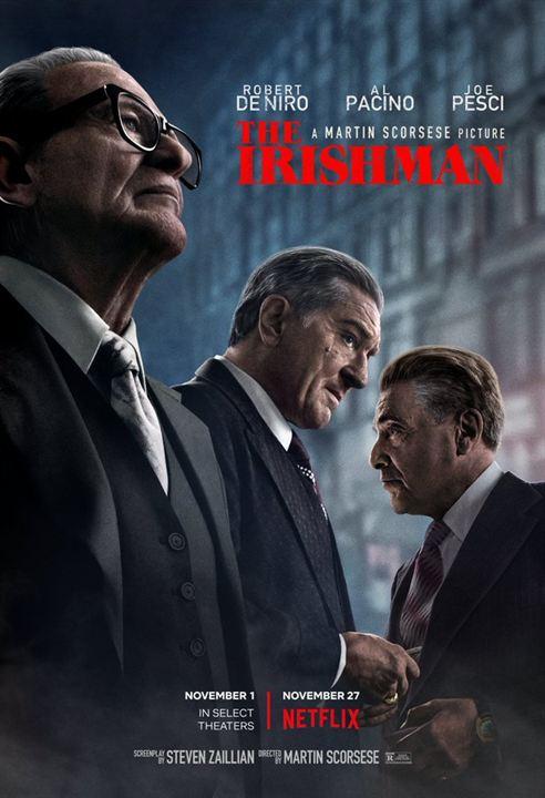 "Neu: Das 1. Poster zu ""The Irishman"""
