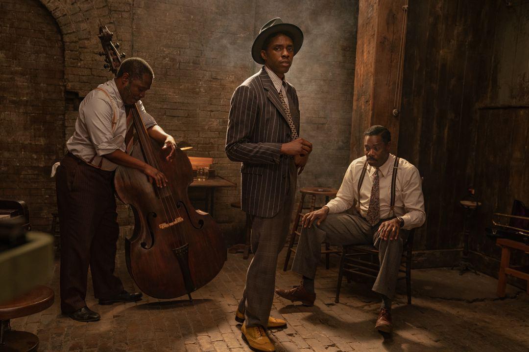 Chadwick Boseman in seiner letzten Rolle