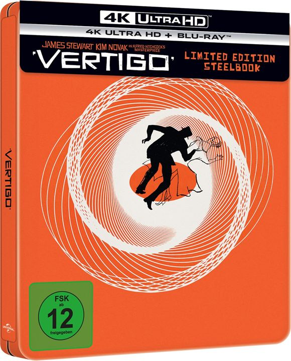 """Vertigo"" 4K-Blu-ray Steelbook"