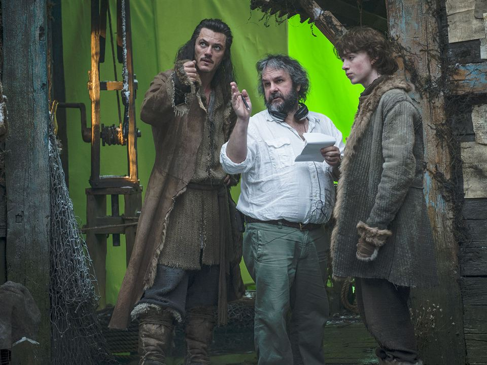 Der Hobbit: Smaugs Einöde: Peter Jackson, Luke Evans