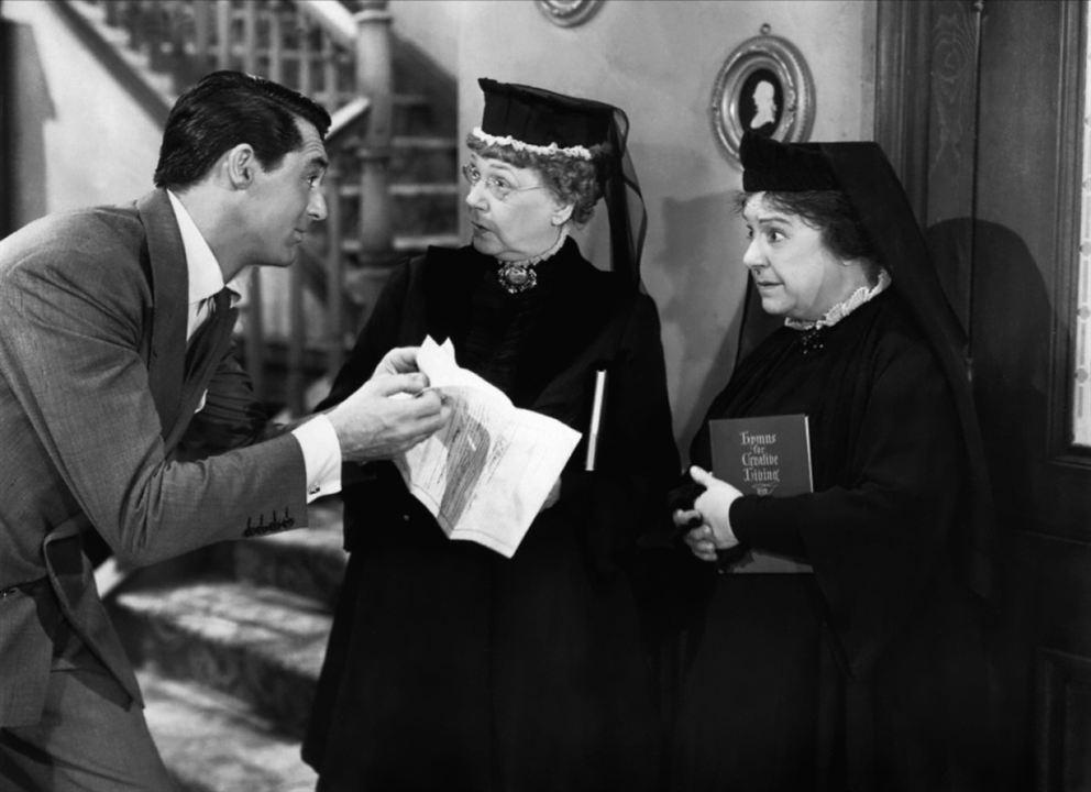 Arsen und Spitzenhäubchen: Josephine Hull, Jean Adair, Cary Grant