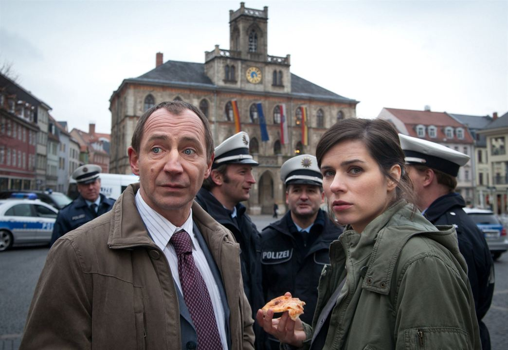 Tatort: Die fette Hoppe : Bild Nora Tschirner, Thorsten Merten