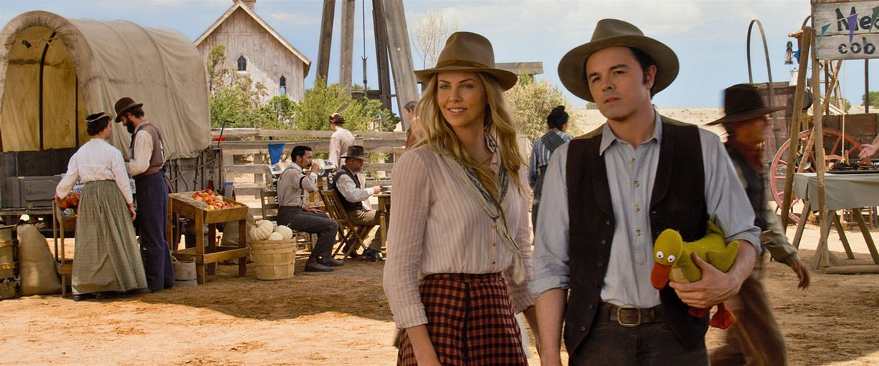 A Million Ways To Die In The West: Seth MacFarlane, Charlize Theron