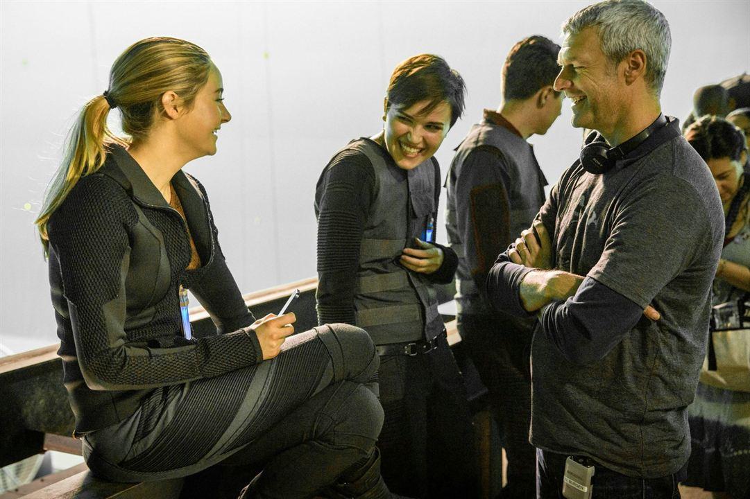 Die Bestimmung - Divergent : Bild Neil Burger, Shailene Woodley, Veronica Roth
