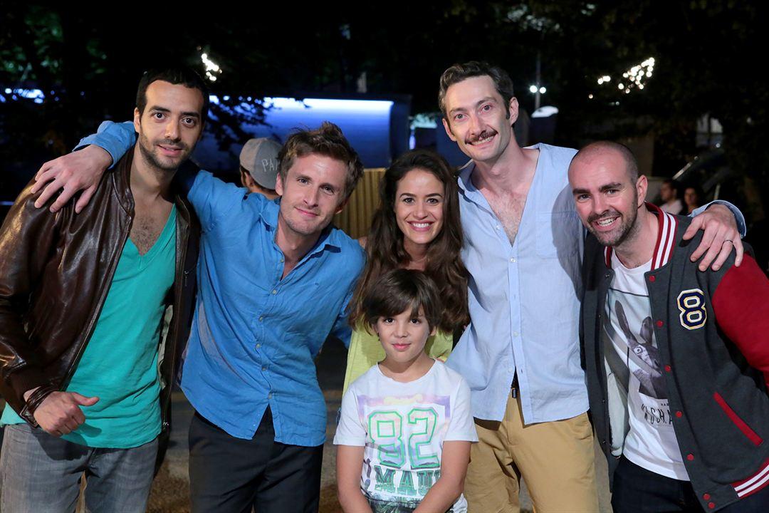 Project: Babysitting : Bild Alice David, Enzo Tomasini, Julien Arruti, Philippe Lacheau, Tarek Boudali