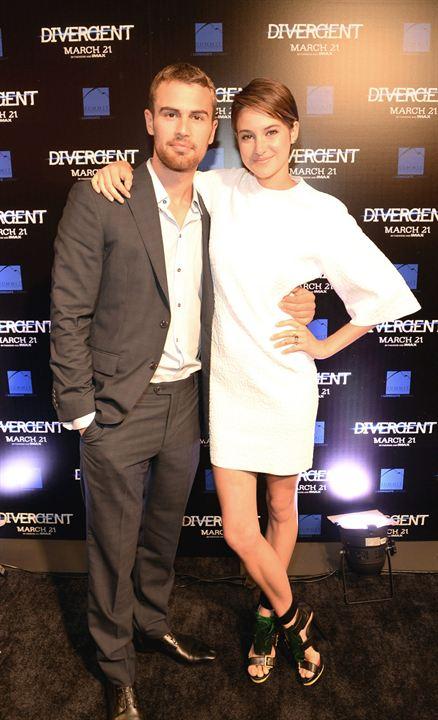 Die  Bestimmung - Divergent: Shailene Woodley, Theo James
