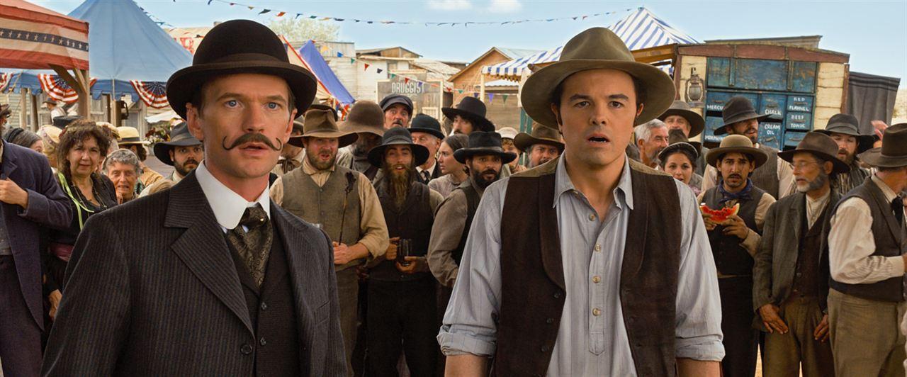 A Million Ways To Die In The West: Seth MacFarlane, Neil Patrick Harris