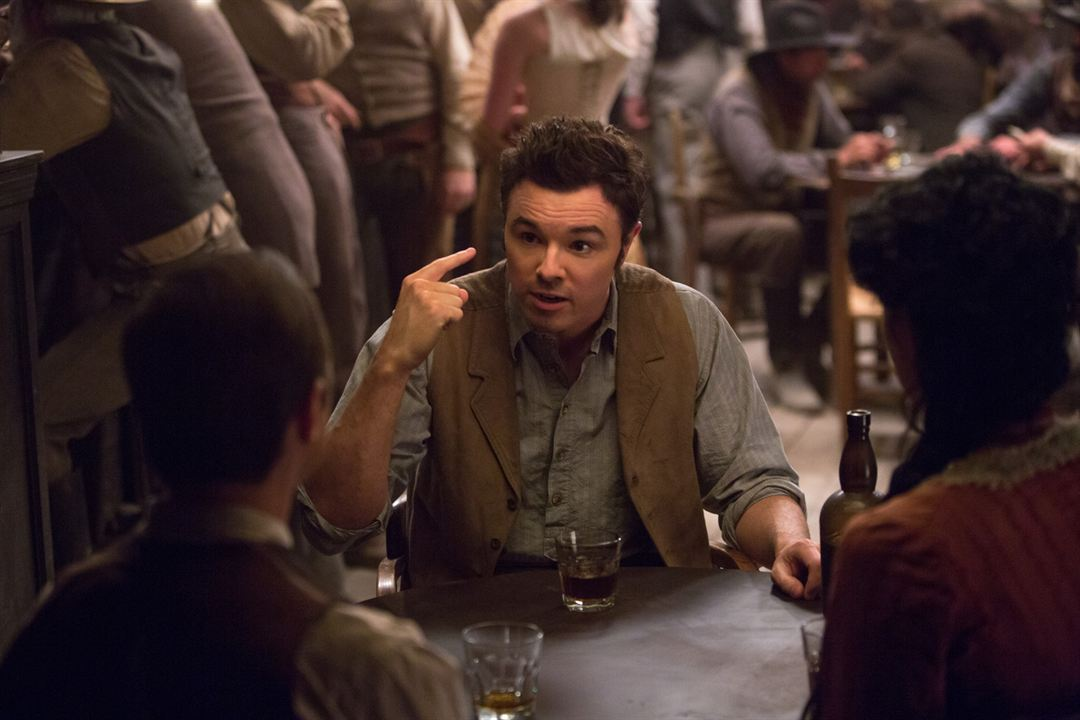 A Million Ways To Die In The West: Seth MacFarlane