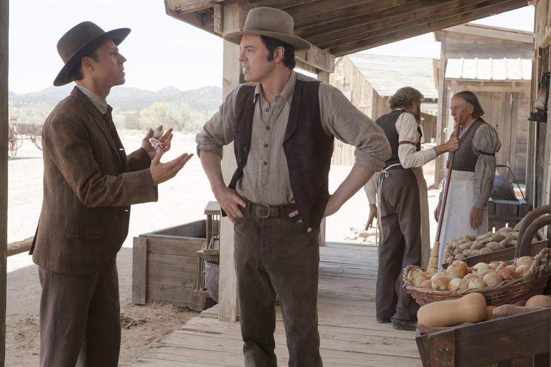 A Million Ways To Die In The West: Seth MacFarlane, Giovanni Ribisi