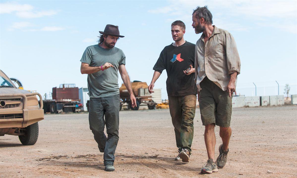 The Rover : Bild David Michôd, Guy Pearce, Robert Pattinson