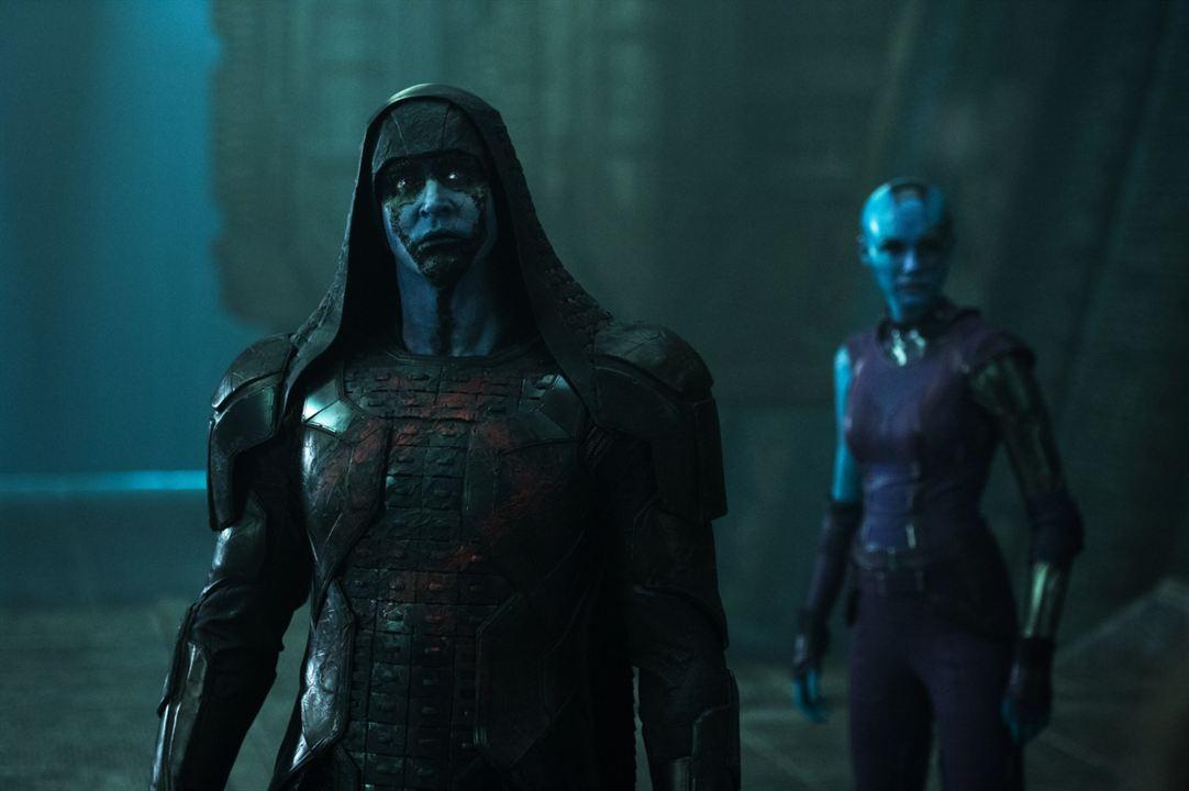 Guardians Of The Galaxy : Bild Karen Gillan, Lee Pace