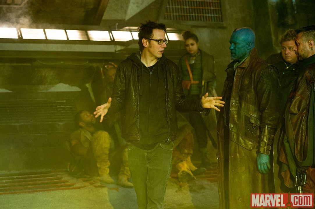 Guardians Of The Galaxy : Bild James Gunn, Michael Rooker