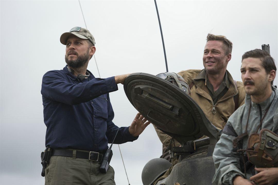 Herz aus Stahl : Bild Brad Pitt, David Ayer, Shia LaBeouf