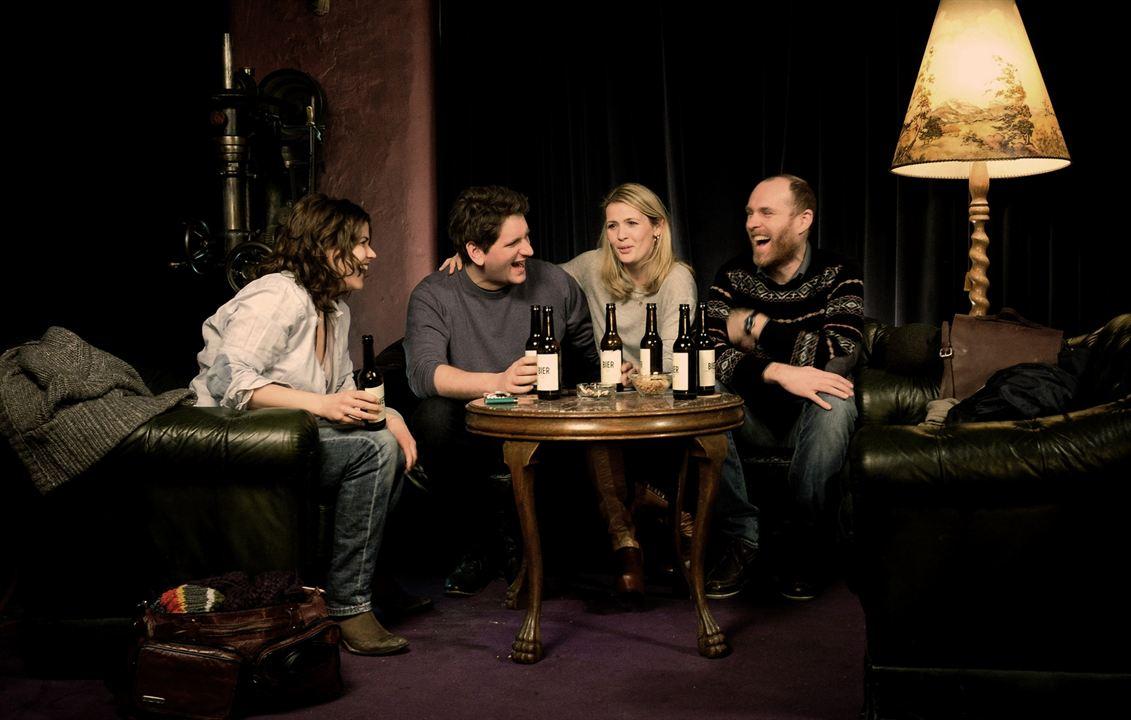 bestefreunde : Bild Katharina Wackernagel, Niels Bormann, Sebastian Schwarz, Tina Amon Amonsen