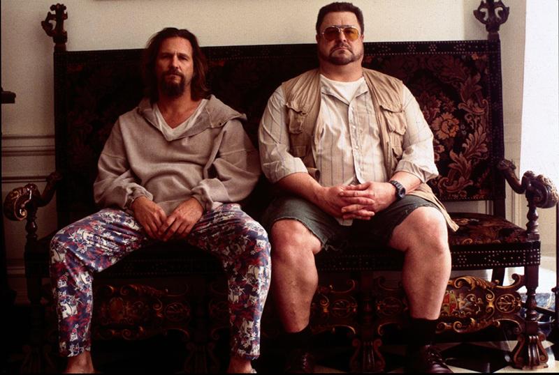 The Big Lebowski: Jeff Bridges, John Goodman