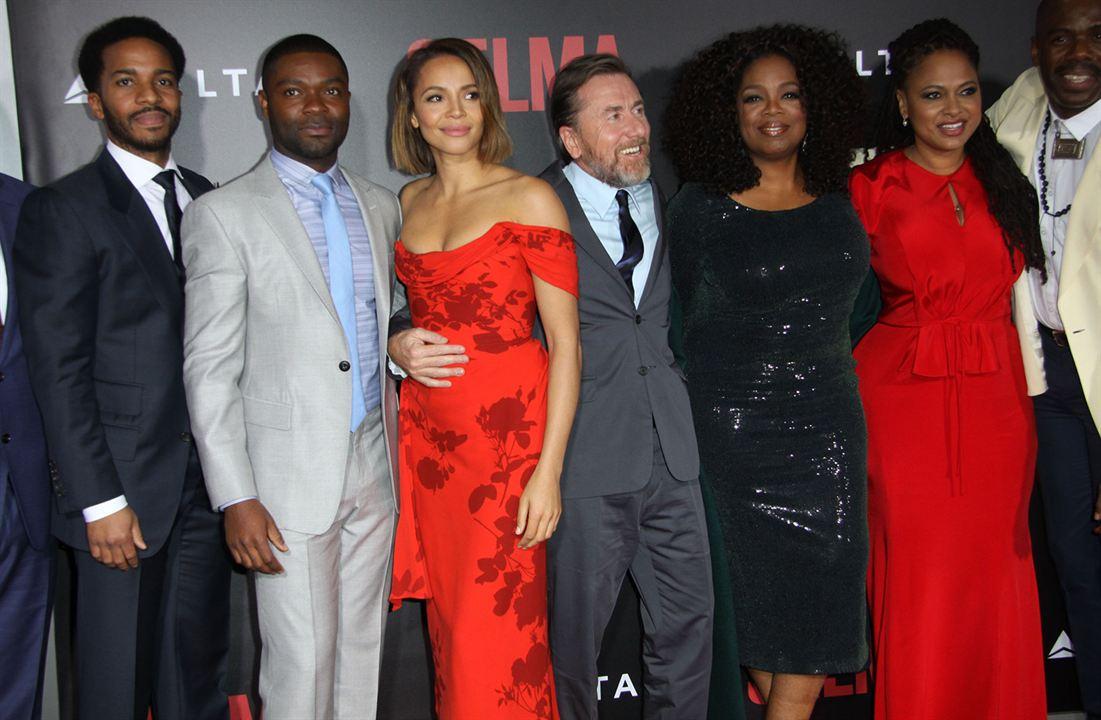 Selma : Vignette (magazine) Ava DuVernay, Carmen Ejogo, David Oyelowo, Oprah Winfrey, Tim Roth
