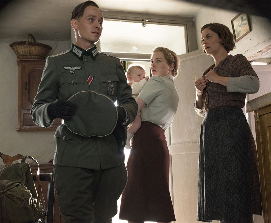 Suite Française - Melodie der Liebe : Bild Michelle Williams, Ruth Wilson, Tom Schilling