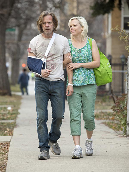 Bild Emily Bergl, William H. Macy