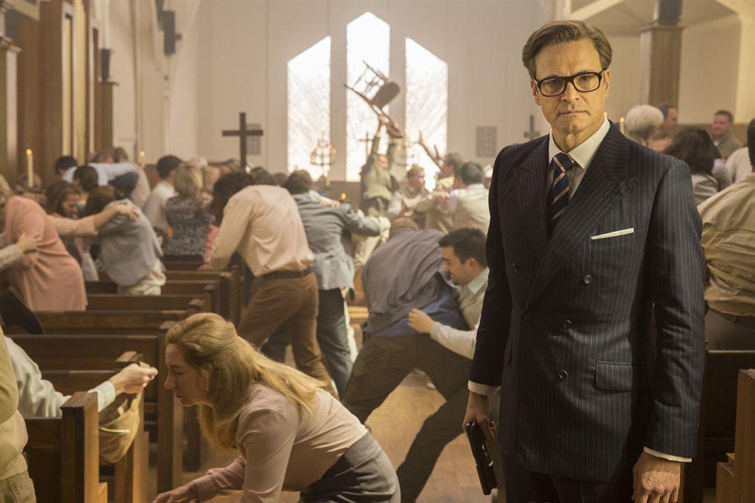 Kingsman: The Secret Service: Colin Firth