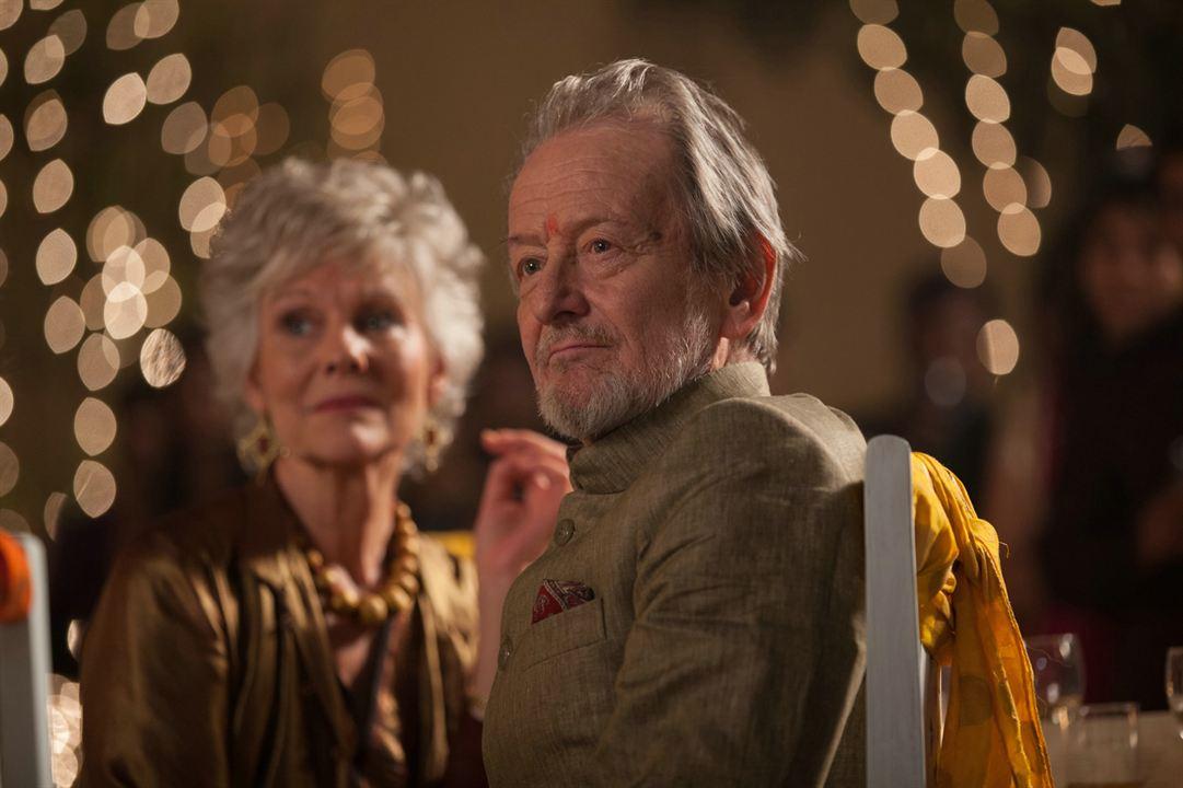 Best Exotic Marigold Hotel 2: Diana Hardcastle, Ronald Pickup