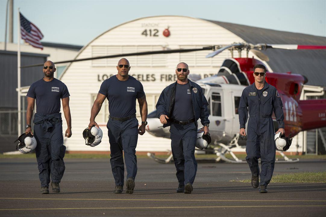 San Andreas : Bild Colton Haynes, Dwayne Johnson, Matt Gerald, Todd Williams