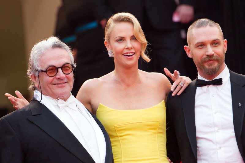 Mad Max: Fury Road : Vignette (magazine) Charlize Theron, George Miller, Tom Hardy