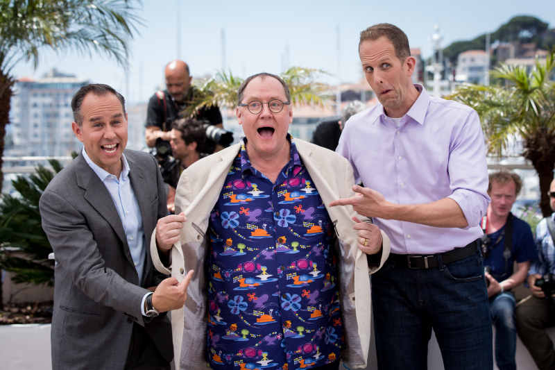 Alles steht Kopf : Vignette (magazine) John Lasseter, Jonas Rivera, Pete Docter