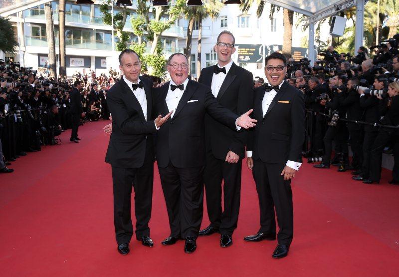 Alles steht Kopf : Vignette (magazine) John Lasseter, Jonas Rivera, Pete Docter, Ronaldo Del Carmen