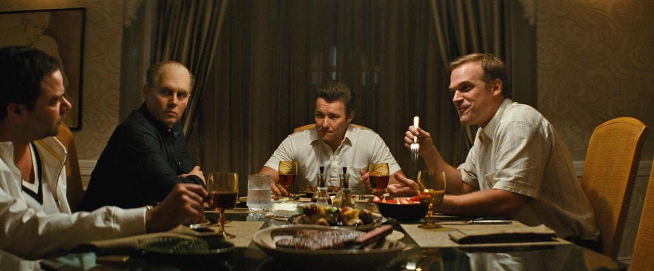 Black Mass : Bild David Harbour, Joel Edgerton, Johnny Depp, Rory Cochrane