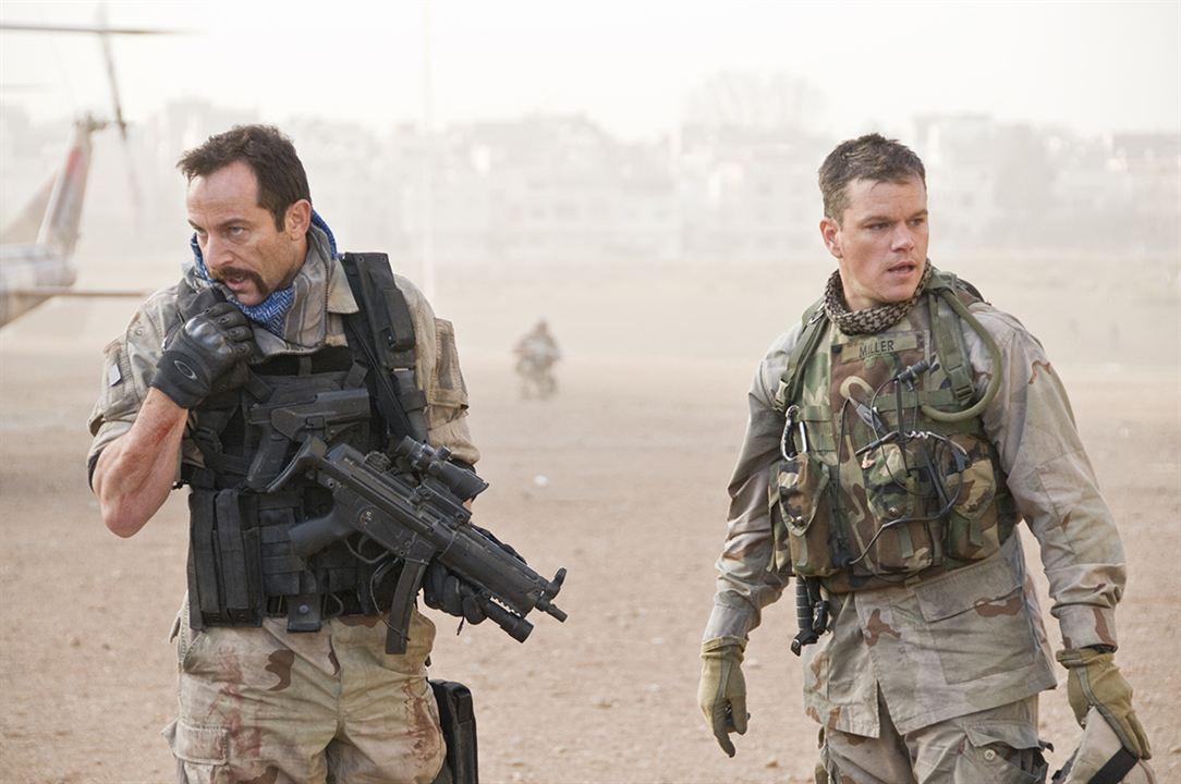 Green Zone : Bild Jason Isaacs, Matt Damon