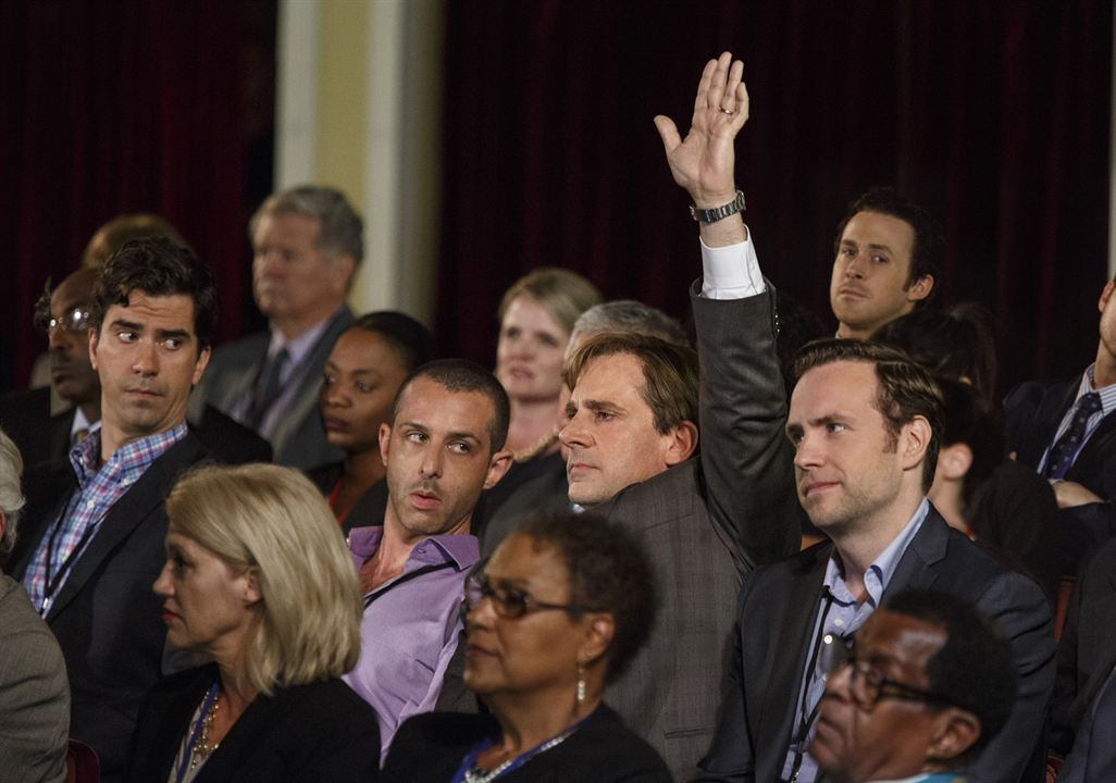 The Big Short : Bild Hamish Linklater, Jeremy Strong, Rafe Spall, Ryan Gosling, Steve Carell