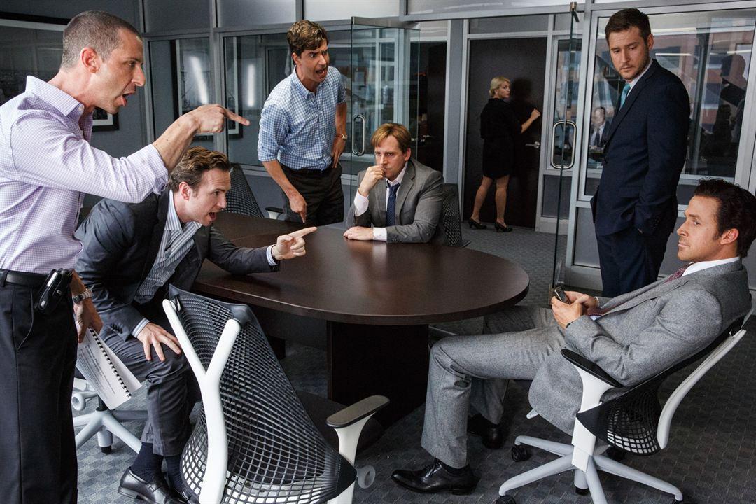 The Big Short : Bild Hamish Linklater, Jeffry Griffin, Jeremy Strong, Rafe Spall, Ryan Gosling