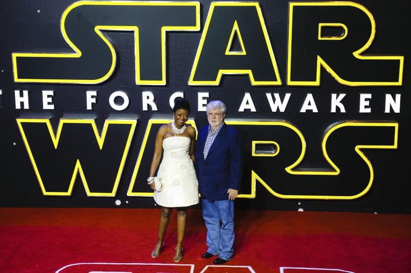 Star Wars 7: Das Erwachen der Macht : Vignette (magazine) George Lucas